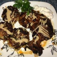 Lamb Steaks & Cauli Falafel